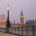 Houses of Parliament at Twilight